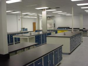 Testing Laboratory Casework