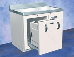 Lead-Lined Generator and Storage Cabinet 244-181