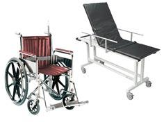 mri wheelchair strechers