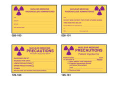 026-100-101_129-160-161 nuclear medicine labels