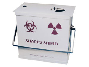 039-325 Sharps Container Shield