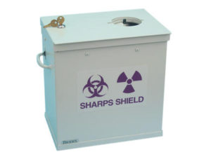 039-326 High-Energy Sharps Container Shield