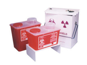 039-335 Sharps Container Shields
